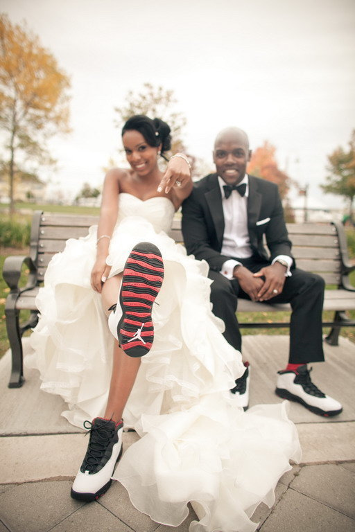 sneakers mariage